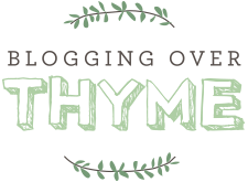Blogging Over Thyme