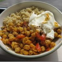 easy and healthy 20 minute chickpea curry