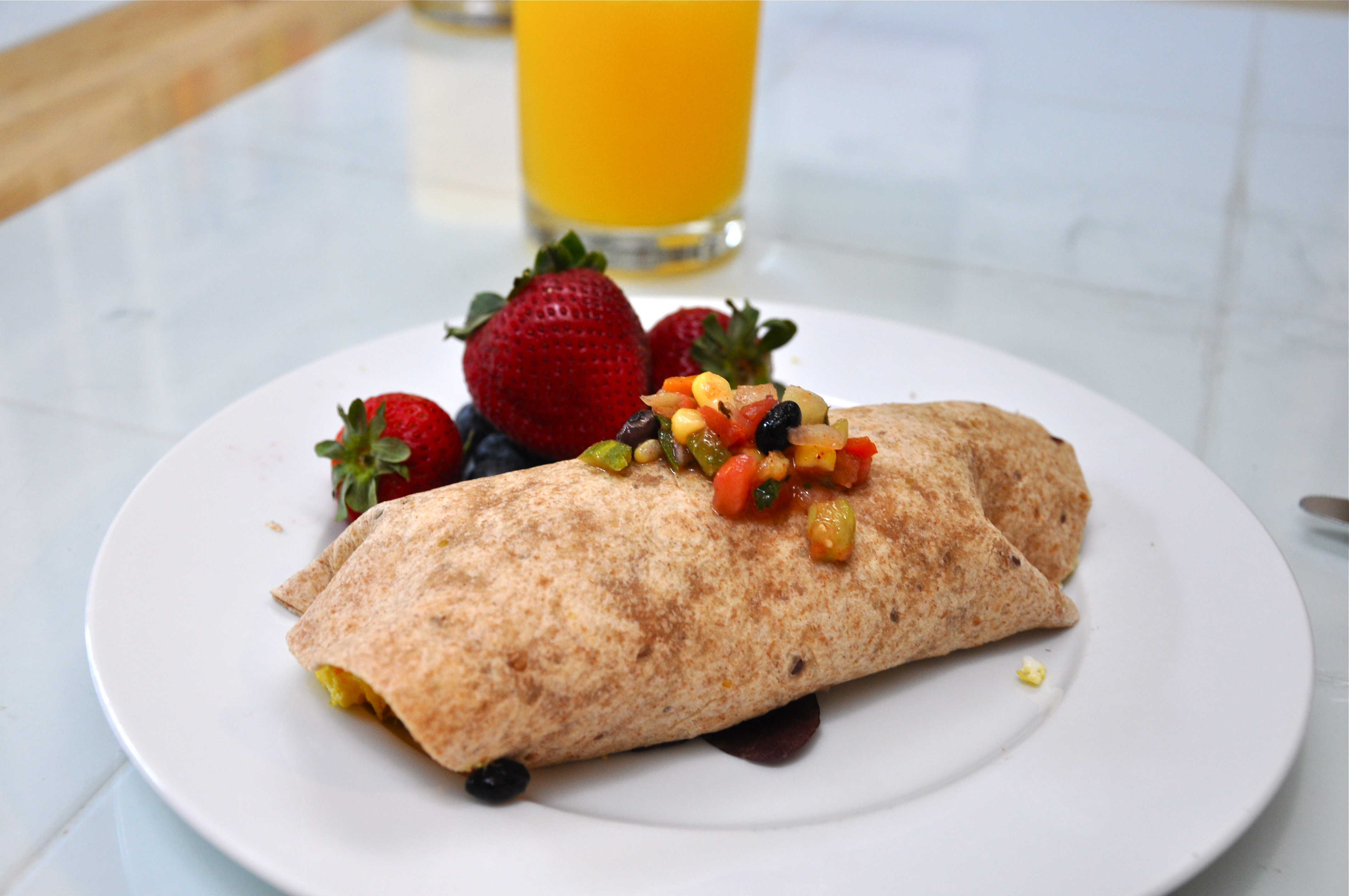 The Awesome Breakfast Burrito