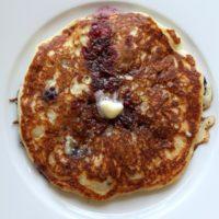 Blueberry Quinoa Pancakes