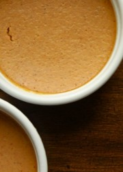 simple pumpkin pie custard