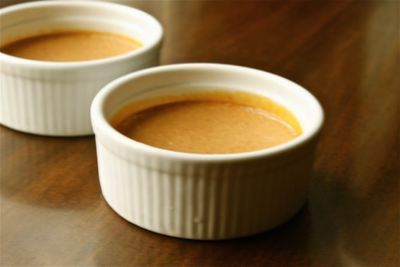 simple pumpkin pie custard