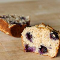 No Guilt Blueberry Almond Muffins