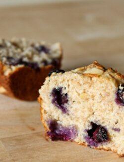 no guilt blueberry muffins