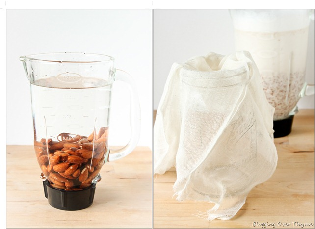 how to break almond meal without a blender