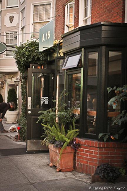 A16 restaurant