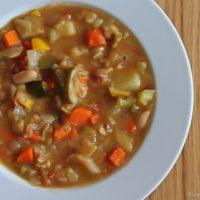Hearty Winter Minestrone Soup