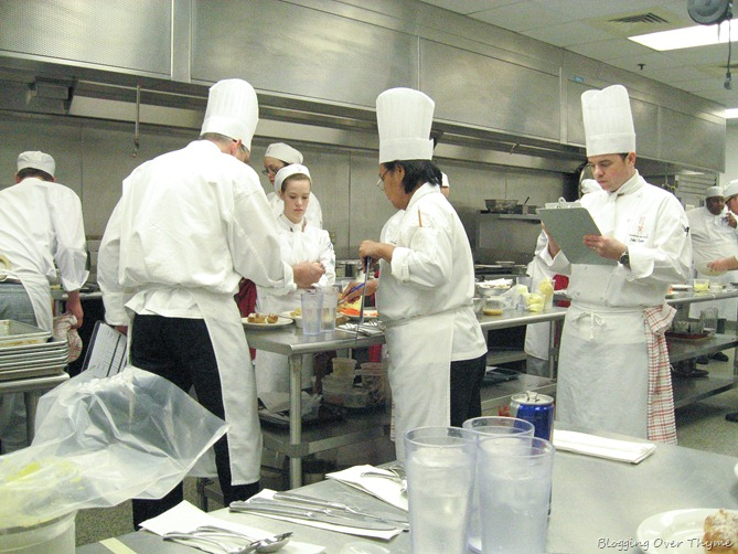 culinary school practical exam