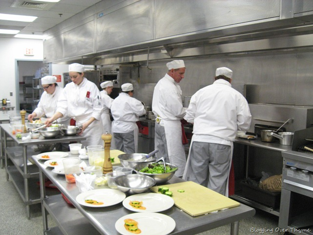 culinary school production