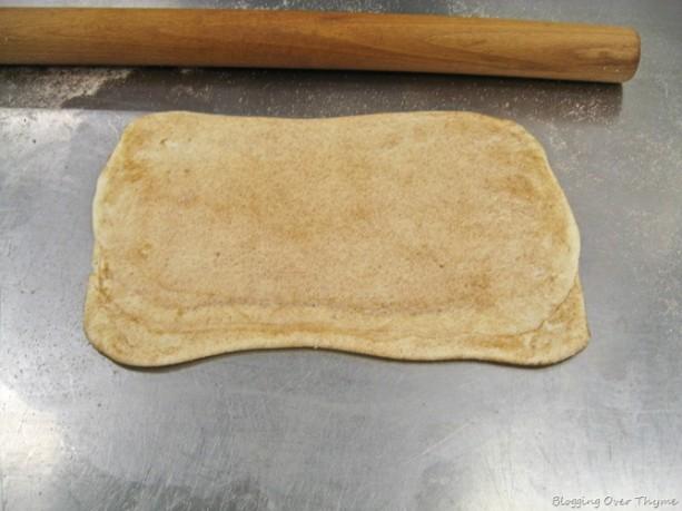 palmier cookie dough
