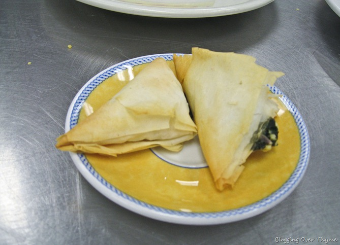 Homemade Spanakopita