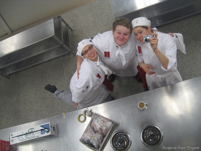 culinary school students