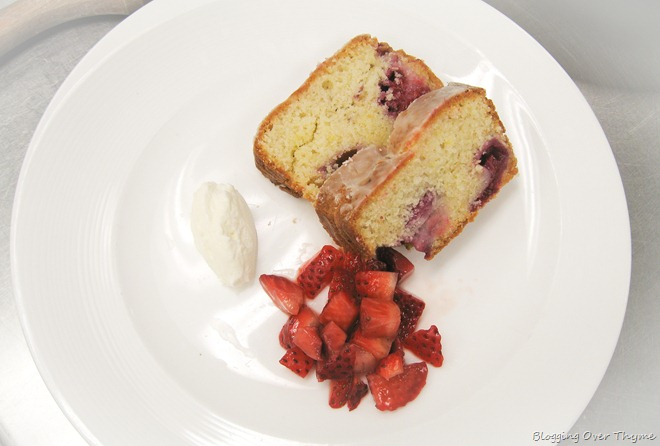Berry Citrus Cake