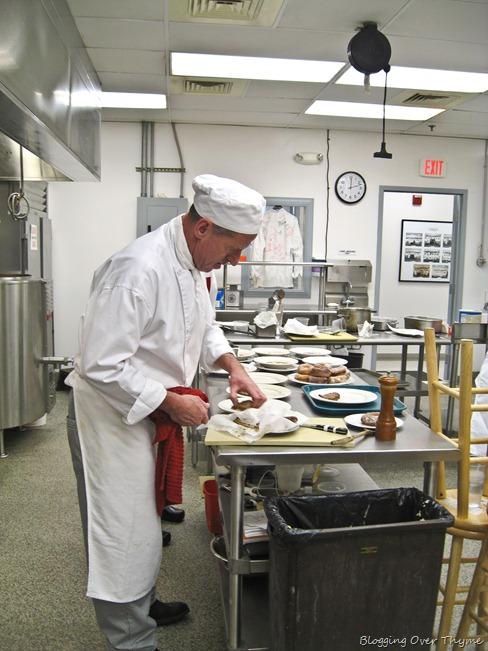 Culinary school classroom
