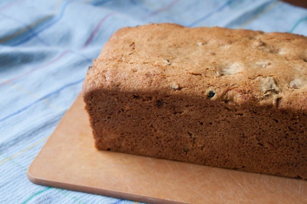 This cup of tea cake is a deliciously light, crumby cake. Flavored with brewed tea, dried fruit, and baking spices. Serve it for tea time!