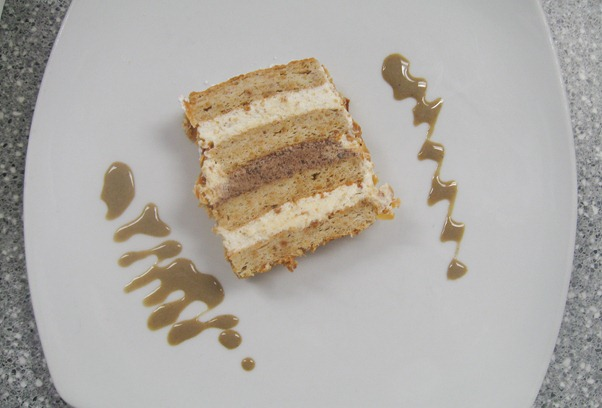 gateau lion d'or