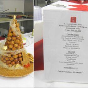 culinary school last week