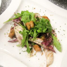 raddichio shrimp salad