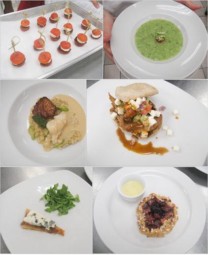 six course tasting menu challenge L'Academie de Cuisine