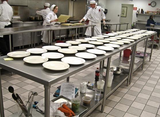 culinary school production