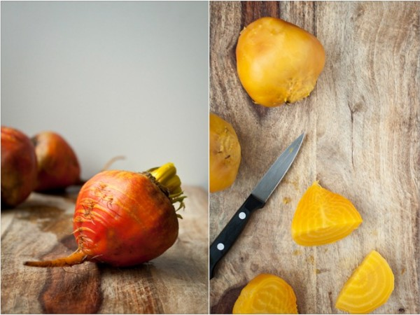 Cooked Golden Beets