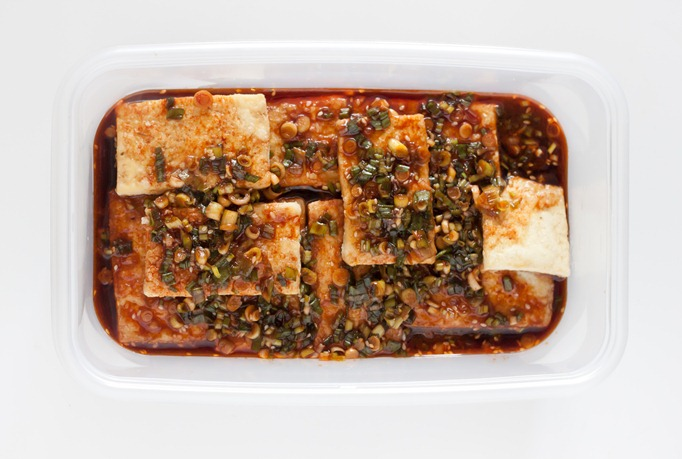 traditional korean braised tofu