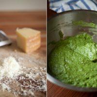 Homemade Arugula Pesto