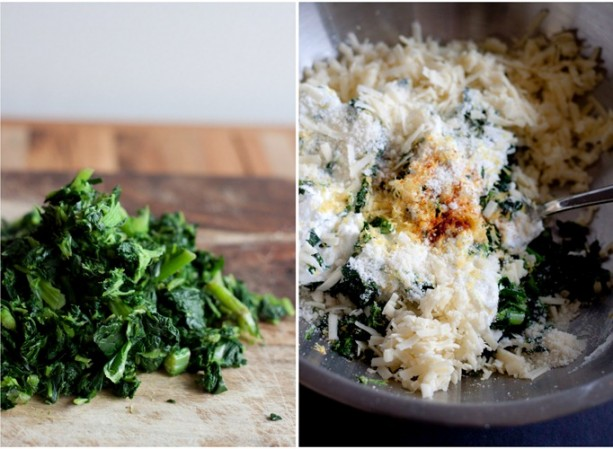 Polenta al Forno with Collard Greens