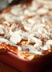 homemade eggplant lasagna