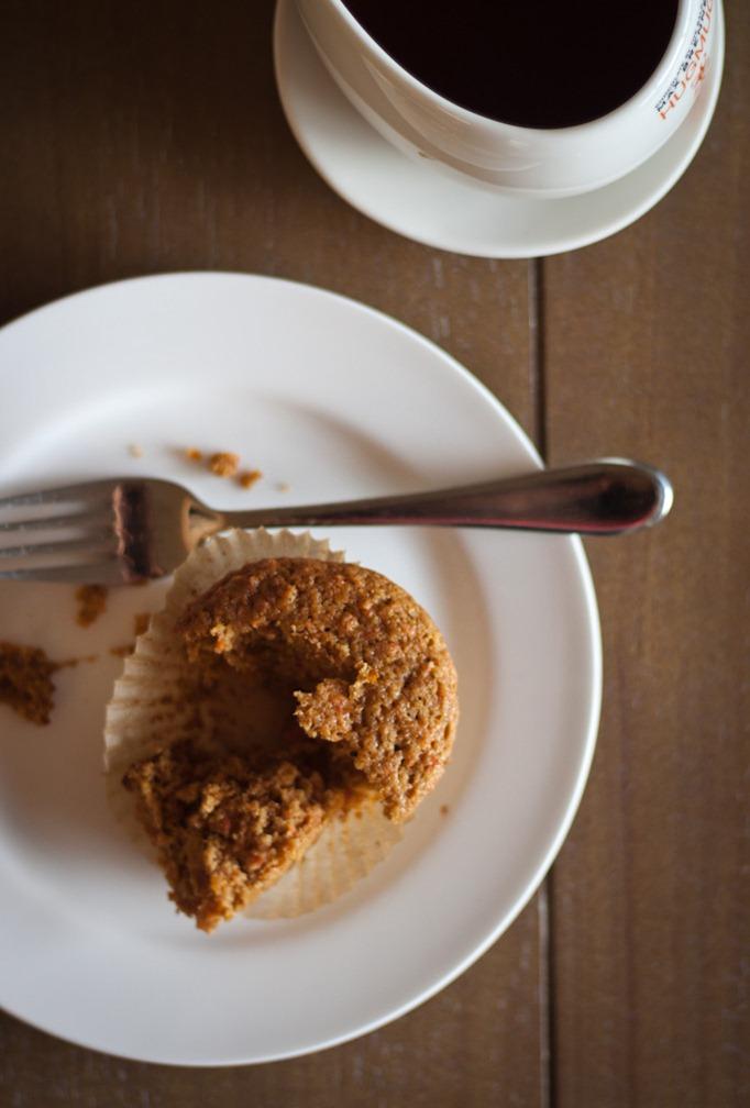 Roasted Carrot Orange Muffins A Beautiful Plate