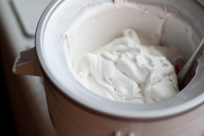 Vanilla Coconut Lemongrass Ice Cream