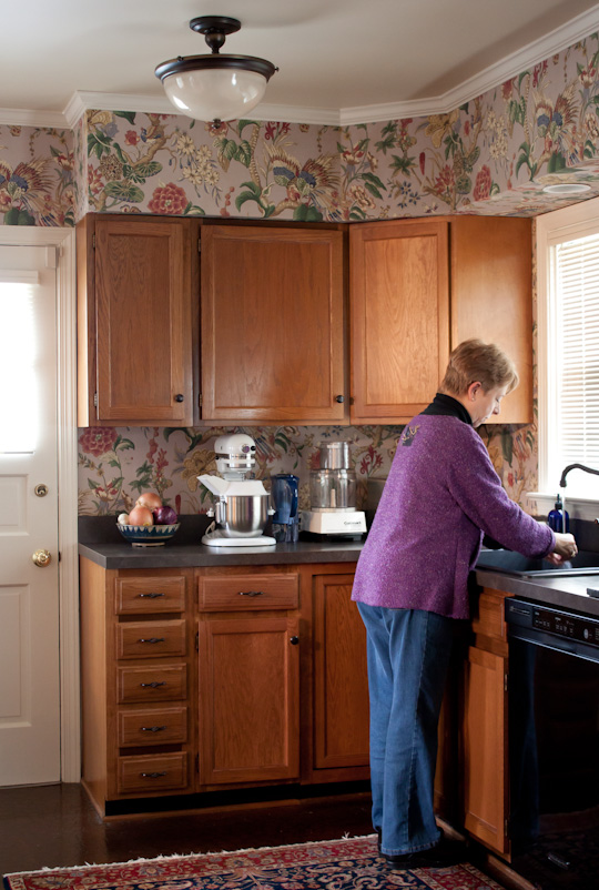 Sam and Judy's kitchen tour