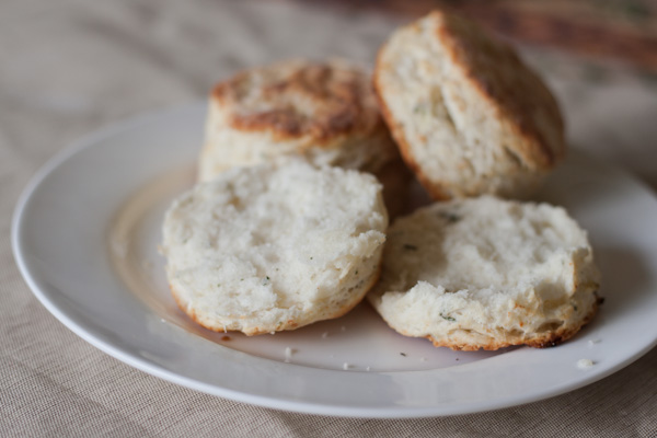 Parmesan Thyme Buttermilk Biscuits (Blogging Over Thyme)