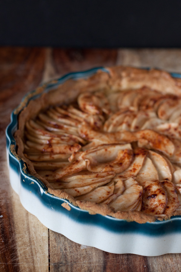 Rustic French Apple Tart A Beautiful Plate