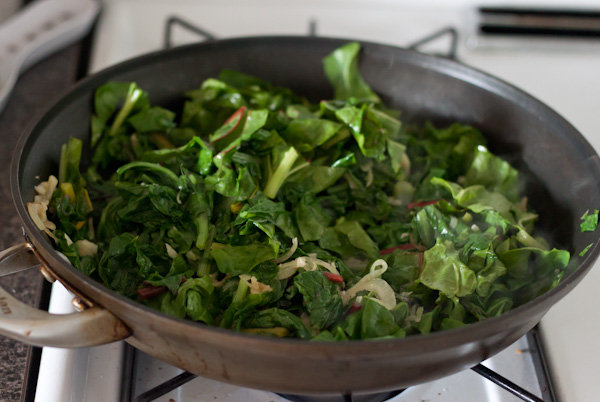 Sauteed Swiss Chard >> Blogging Over Thyme