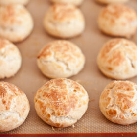 Castello Moments Triple Alps Cheese Gougeres >> Blogging Over Thyme