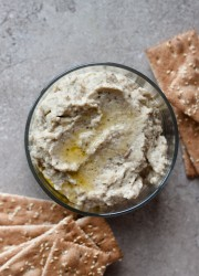Roasted Eggplant Dip >> Blogging Over Thyme
