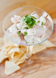 Ceviche de Pescado | Blogging Over Thyme