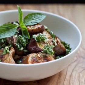 Thai Eggplant Rounds >> Blogging Over Thyme