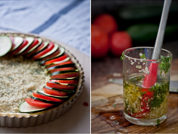 How to Make a Tomato Zucchini Tart