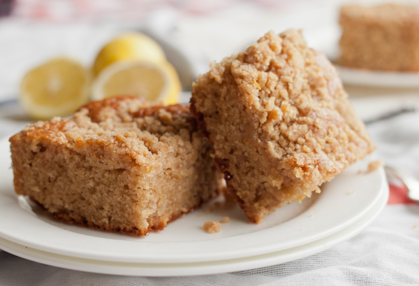 Lemon Crumb Cake | Blogging Over Thyme
