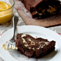 Chocolate Passion Fruit Cake