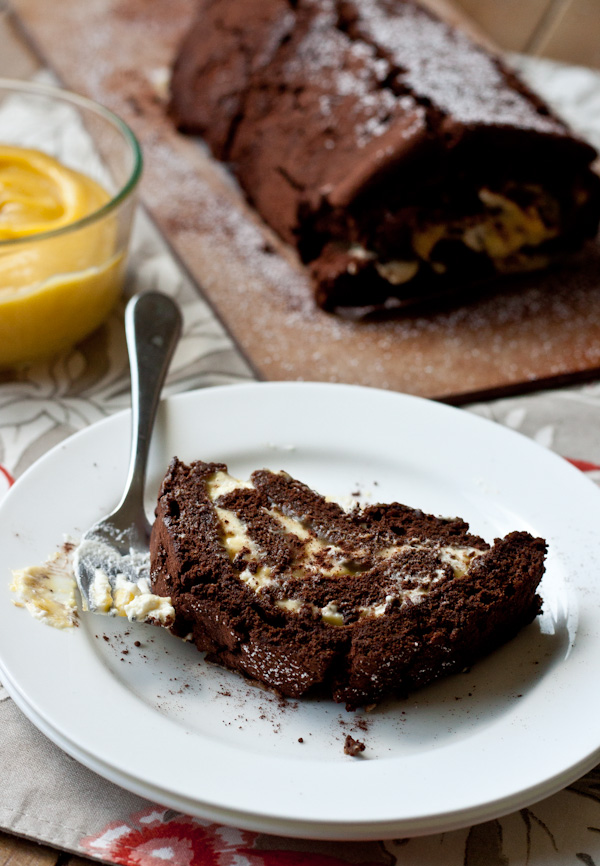 Chocolate Passion Fruit Cake | Blogging Over Thyme