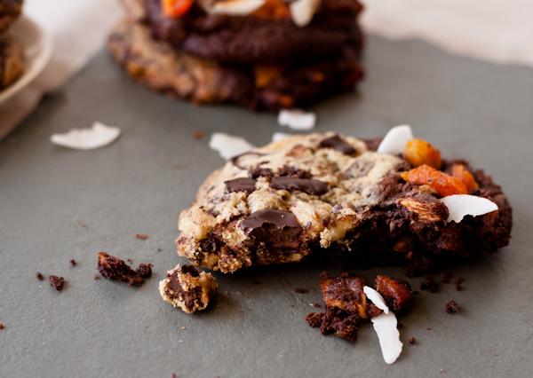 Tropical Chocolate Chunk Cookies