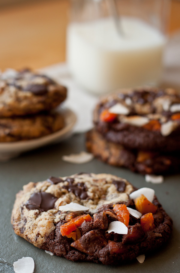 Tropical Chocolate Chunk Cookies