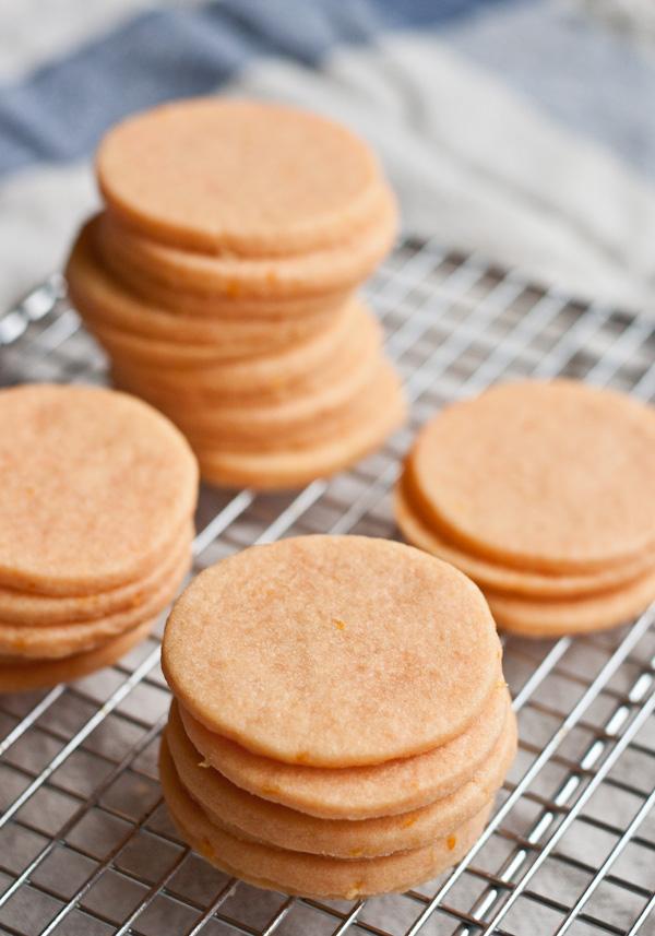 Citrus Sandwich Cookies | bloggingoverthyme.com