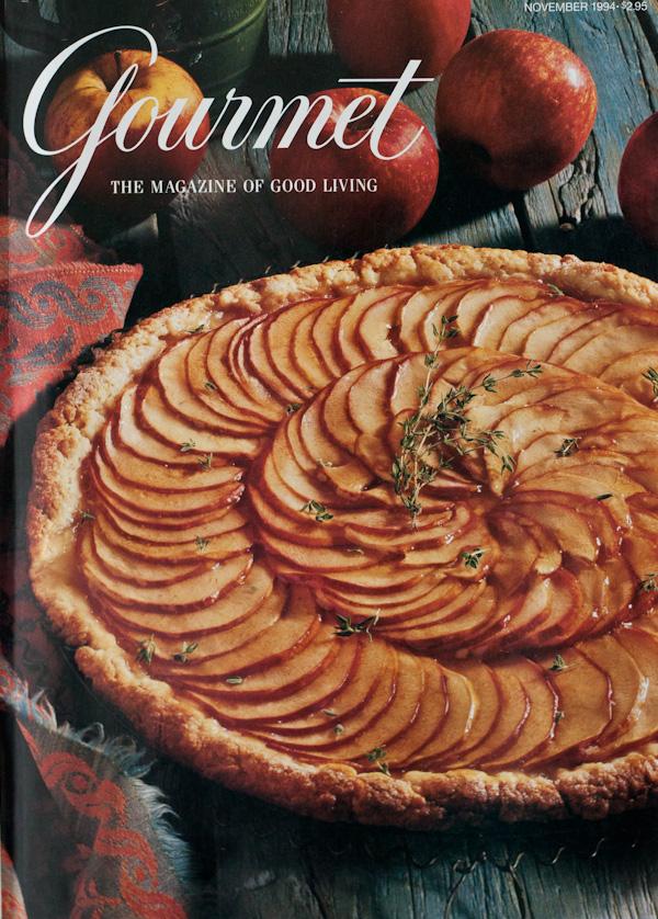 Gourmet Magazine Cover