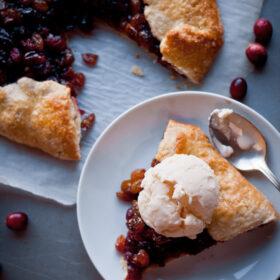 Cranberry Raisin Tart