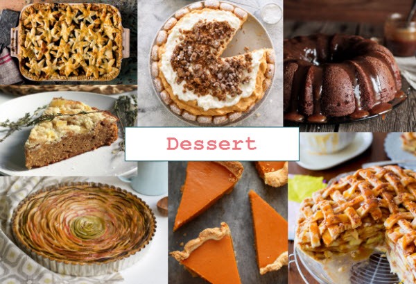 Thanksgiving Recipe Round-Up | bloggingoverthyme.com