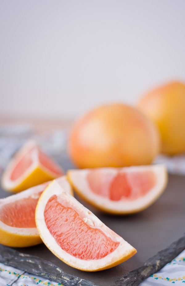 Candied Grapefruit Zest | bloggingoverthyme.com